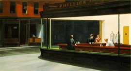 Nighthawks(1942), Edward Hopper