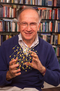 "Nobel Prize winner Roald Hoffman will present ""Protochemistries are a Bridge"" at Ithaca College. Photo by Gary Hodges."