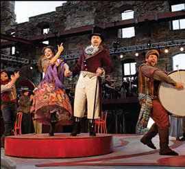 Pagliacci at the Mill City Summer Opera, photo by Michal Daniel