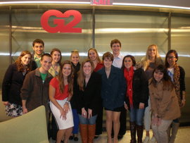 Park AdVenue visits G2 USA in New York City
