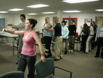 Physical therapy incorporates movement and dance at Ithaca College�s Center for Life Skills.