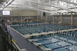 Aquatics Pavilion Kelsey Partridge Bird Natatorium And
