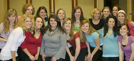 Premium Blend, IC's all-female a cappella group