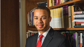 Professor Donathan Brown Photo by Jacob Beil '15