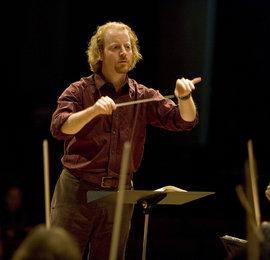 Professor Jeffery Meyer in rehearsal