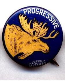 Progressive Party Pin (1912)