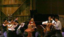 Prokofiev at Garth Newel Music Festival, Garth Newel, VA