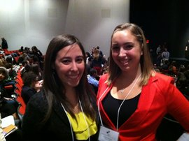 Rachel Heiss '13 (left) and Marissa Osowsky '14 (right) Receive AWNY Scholarships