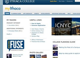 Register for myIthaca