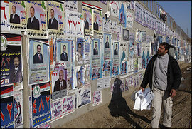 Reuters, Election Posters in Baghdad, 2009