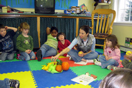 Robin at Active Learners preschool