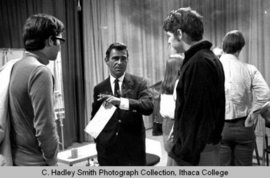 Rod Serling taught at Ithaca College from 1967 to 1975.