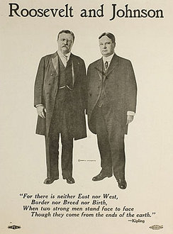 Roosevelt and Johnson Poster (1912)