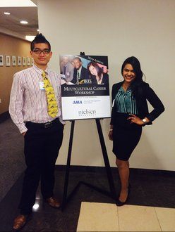 Rosswill Lyons and Jeremy Li Attend IRTS Multicultural Career Workshop