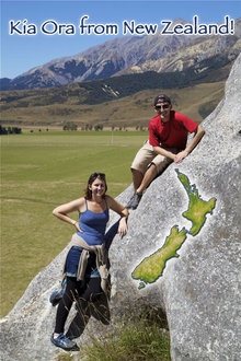 Samantha Mason and John Vogan are abroad in New Zealand this semester