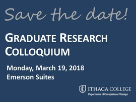 Save the date! 2018 Colloquium