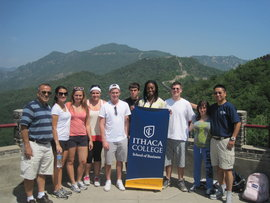 School of Business Students Study Abroad in China