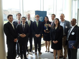 School of Business Students Take Second in Adirondack Cup