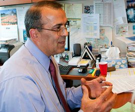 School of Business professor and associate dean Hormoz Movassaghi launched the certificate program in 2000. Photo by Martha Pace '12.