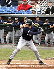 Shane Wolf '08 (above) and Bryan Gardner '09 have been selected in the MLB Amateur Draft.