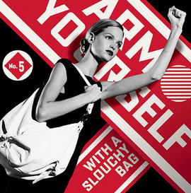 "Shepard Fairey, ""Arm Yourself,"" Ad for Saks Fifth Avenue (Copyright 2009 The New York Times Company)"