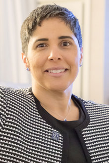 Shirley M. Collado was announced as Ithaca College's ninth president on February 22, 2017.