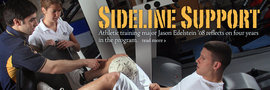 Sideline Support: An Athletic Training Student's Story