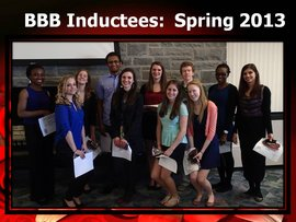Spring Inductees