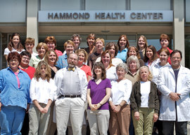 Staff of Hammond Health Center