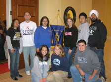 Stephanie at Beta Gamma Sigma Leadership Forum
