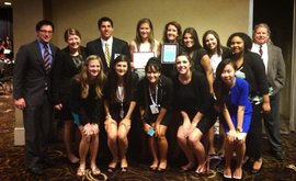 Students Bring Home Awards from American Marketing Association Conference