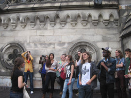 Students at St. John the Divine, NYC, 2013