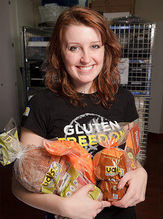 Susannah Faulkner �11 was essential to the creation of the gluten free program at IC.