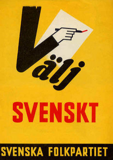 Swedish People's Party of Finland, 1960 (http://en.wikipedia.org)