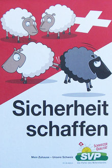 "Swiss People's Party, ""Creating Security,"" 2007"