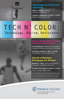 TECH N' COLOR POSTER