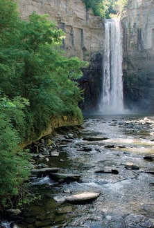 Taughannock Falls by David Ruether