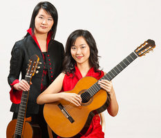 The Beijing Guitar Duo  Photo by Stephen Spartana