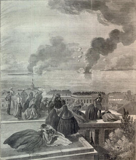 The Bombardment of Fort Sumter, Harper's Weekly, May 4, 1861