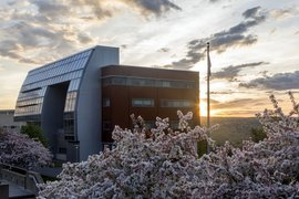The Dorothy D. and Roy H. Park Center for Business and Sustainable Enterprise -- home to the School of Business at Ithaca College.