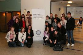 The Ithaca College Delegates Arrive in Copenhagen