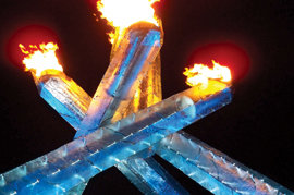 The Olympic cauldron that inspired Nicholas Karski '11