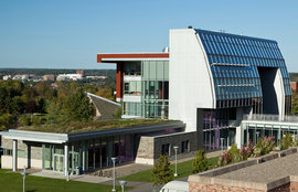 The Park Center for Business and Sustainable Enterprise at Ithaca College is certified LEED Platinum.