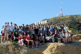 The Spring 2011 ICLA group at the Hollywood Sign. Photo Courtest of Jon Bassinger-Flores