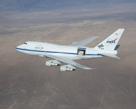 The Stratospheric Observatory for Infrared Astronomy (SOFIA).