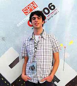 The author at the CMJ Music Marathon in New York