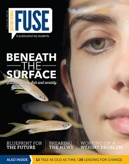 The cover of the Fall Fuse issue
