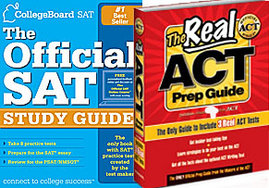 The official SAT and ACT study guides