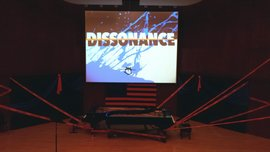 The set for the American Dissonances concert