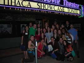 Theater students in LA